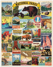 Cavallini Papers & Co., Inc. National Parks 1,000 Piece Puzzle available at The Good Life Boutique