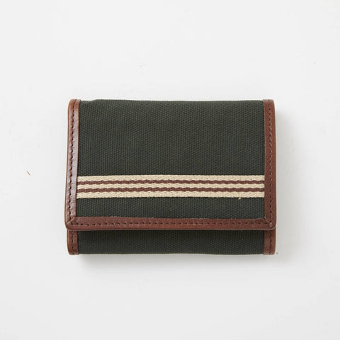 Trifold Wallet Canvas Green