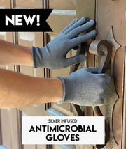 Living Royal Antimicrobial Gloves - Silver Infused available at The Good Life Boutique