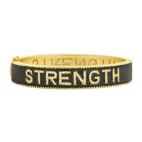 Freida Rothman Freida Rothman Strength Bracelet available at The Good Life Boutique