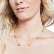 Julie Vos Julie Vos - Bee Delicate Necklace Gold available at The Good Life Boutique