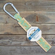Beach Badger Vintage Seashell Beach Badge Holder available at The Good Life Boutique