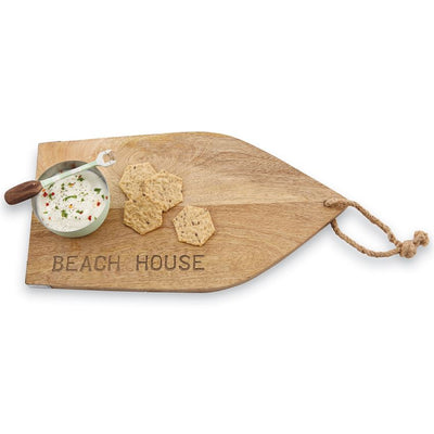 BEACH HOUSE BOARD WITH DIP CUP