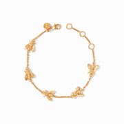 Julie Vos Julie Vos - Bee Delicate Bracelet Gold available at The Good Life Boutique