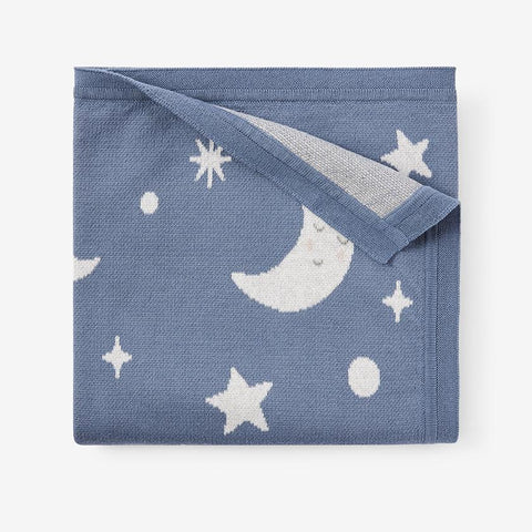 Elegant Baby Blanket - Celestial Slate available at The Good Life Boutique