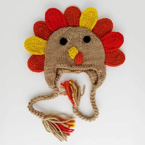 Turkey Earflap Beanie Hat