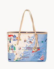 Spartina Spartina Down The Shore Tote available at The Good Life Boutique