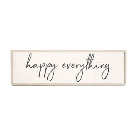 HAPPY EVERYTHING PLAQUE