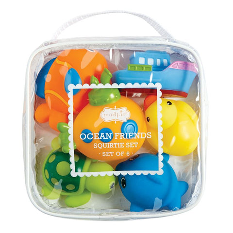 Ocean Friends Rubber Bath Toys