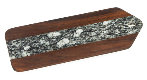 Oak & Olive - Picnic Plus Tegan Black & White Marble Cheese and Serving Board available at The Good Life Boutique