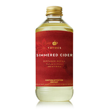 Thymes Thymes Simmered Cider Diffuser Refill available at The Good Life Boutique