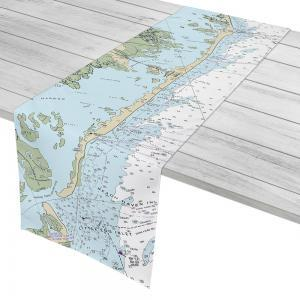 LBI, NJ Nautical Chart, Table Runner