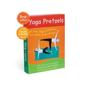 Barefoot Books Yoga Pretzels activity deck available at The Good Life Boutique