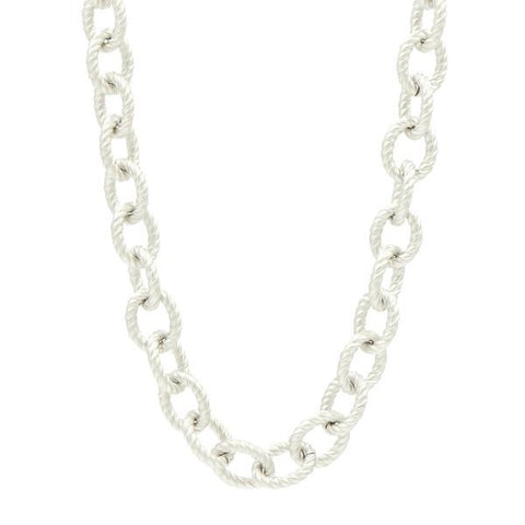 Freida Rothman - Two Tone Toggle Chain Necklace