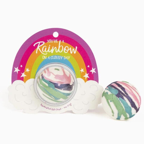 You're a Rainbow on a Cloudy Day Bath Bomb Clamshell
