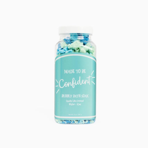 Cait & Co Made To Be Confident Bubbly Bath Soak available at The Good Life Boutique