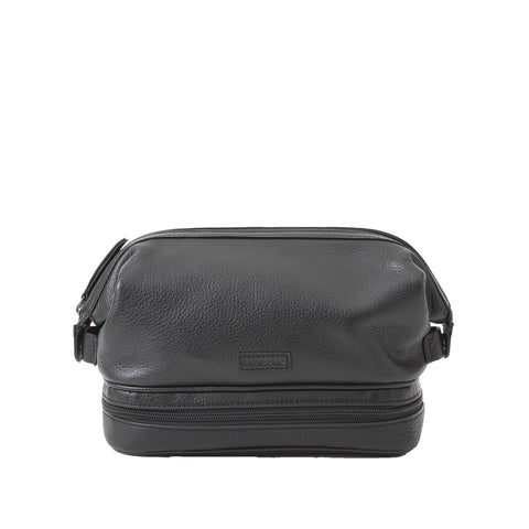 Baekgaard Ltd. Toiletry Travel Bag Micro Black available at The Good Life Boutique