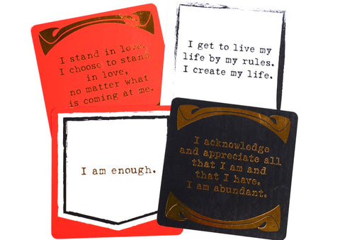 Your Joyologist Own Your Awesome - 52 Card Deck of Powerful Affirmations available at The Good Life Boutique