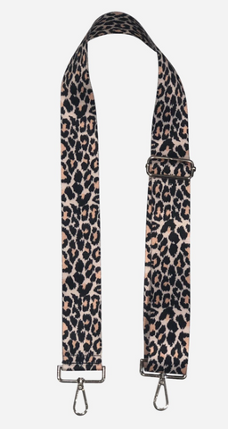 "AHDORNED Animal Print Adjustable 2"" Bag Strap - Cheetah Print available at The Good Life Boutique"