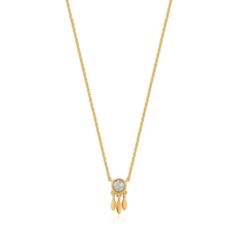 ANIA HAIE Gold Midnight Fringe Necklace available at The Good Life Boutique