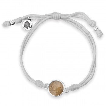 TTW - Gray Elephant Bracelet With LBI Sand - Alzheimer's Care & Research