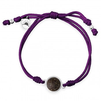 TTW - Purple Horizon Bracelet With LBI Sand - Opioid Research & Rehabilitation