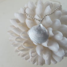 Load image into Gallery viewer, Seashell imprinted necklace from Parksville, Vancouver Island - Swallow Jewellery