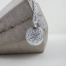Load image into Gallery viewer, Uniform button imprinted necklace - Swallow Jewellery