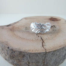 Load image into Gallery viewer, Coastal Red Cedar needle ring from Victoria, BC - Swallow Jewellery