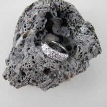Load image into Gallery viewer, Whale bone imprinted ring from Victoria, BC - Swallow Jewellery