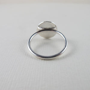 Uniform button imprinted ring - Swallow Jewellery