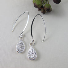 Load image into Gallery viewer, Driftwood dangle earrings from Mystic Beach, Vancouver Island - Swallow Jewellery
