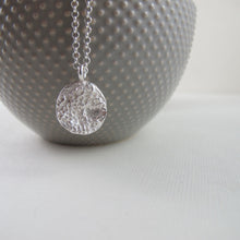 Load image into Gallery viewer, Barnacle imprinted long necklace from Kin Beach, Vancouver Island - Swallow Jewellery