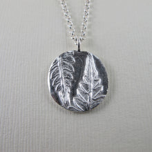 Load image into Gallery viewer, Rainforest fern long necklace from the Tonquin Trail in Tofino, BC - Swallow Jewellery