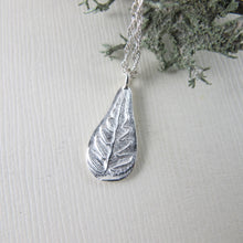 Load image into Gallery viewer, Rainforest fern short necklace from the Tonquin Trail in Tofino, BC - Swallow Jewellery