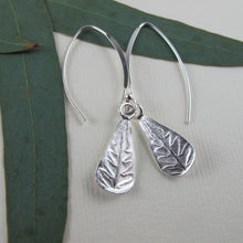 Load image into Gallery viewer, Rainforest fern dangle earrings from the Tonquin Trail in Tofino, BC - Swallow Jewellery