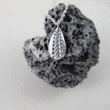 Load image into Gallery viewer, Sea urchin imprinted necklace from Middle Beach, Tofino - Swallow Jewellery