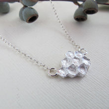 Load image into Gallery viewer, Honeycomb imprinted necklace from Qualicum Falls, Vancouver Island