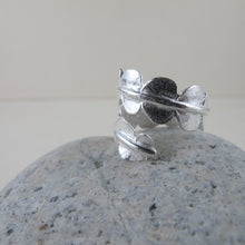 Load image into Gallery viewer, Baby fern wrap ring from Sandcut Beach on Vancouver Island, BC by Swallow Jewellery