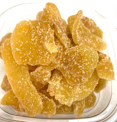 Crystalized Ginger Slices - 8 ozs