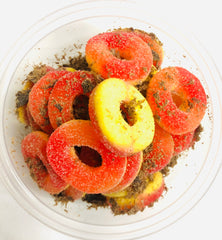 Lemon Peel Peach Gummies (8 ozs.)