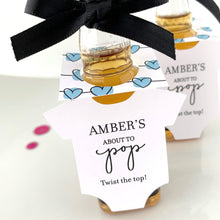 Load image into Gallery viewer, about to pop baby shower alcohol favors