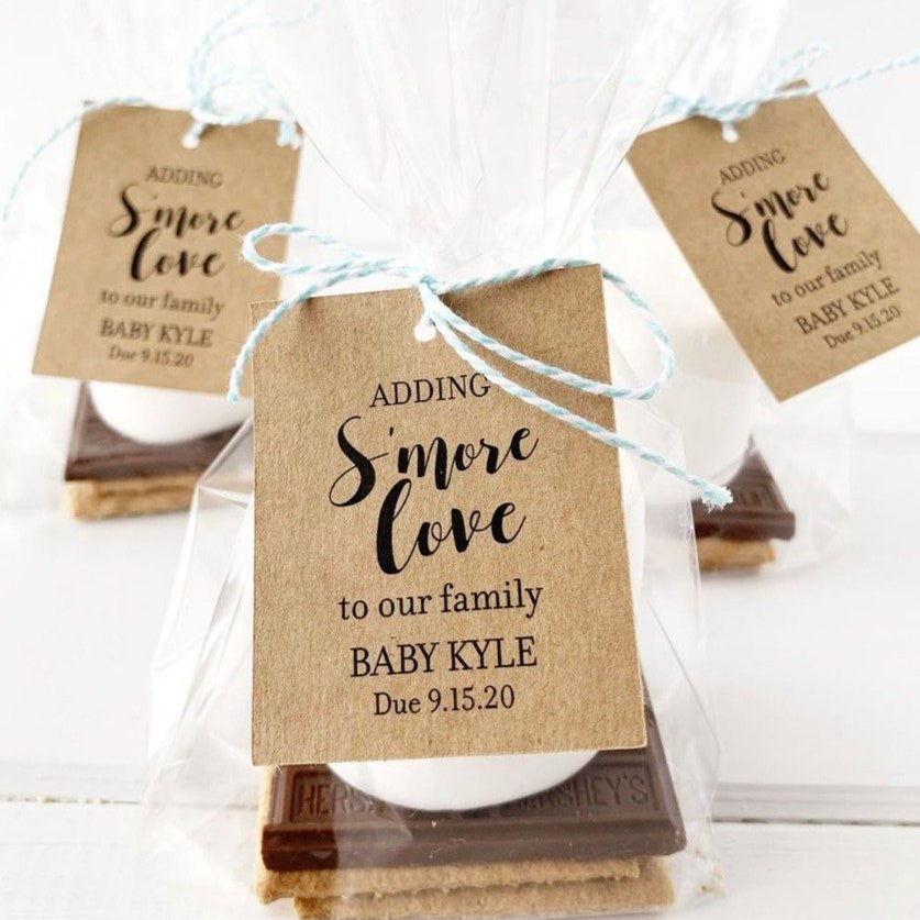 Adding Smore Love To Our Family Tags
