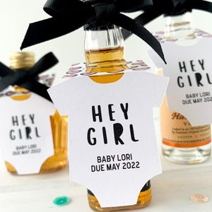 Hey Girl Mini Bottle Tags