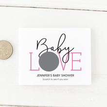 Load image into Gallery viewer, Baby Love Baby Shower Scratch Offs