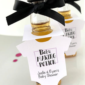 baby making potion baby shower favors