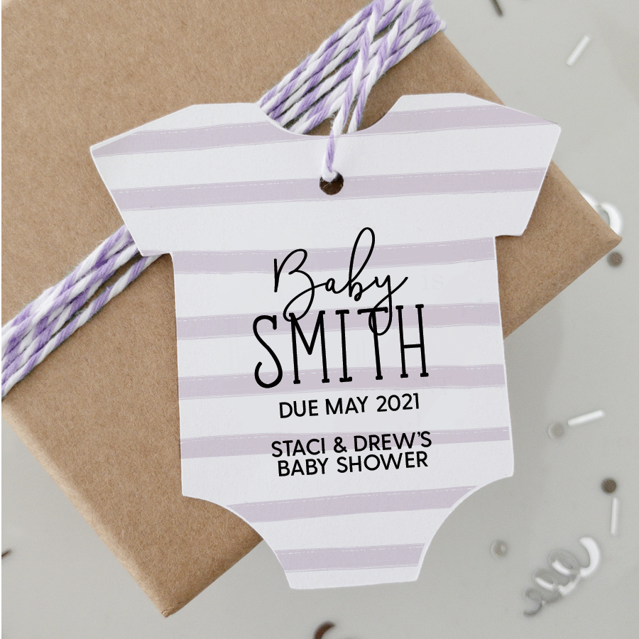 Baby Shower Gift Tags