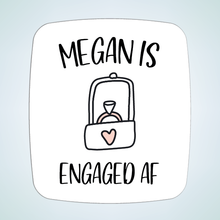 Load image into Gallery viewer, Engaged AF Bridal Shower Stickers