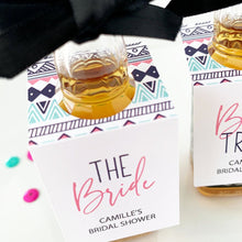 Load image into Gallery viewer, Bride Tribe Bridal Shower mini bottle tags