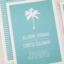 Load image into Gallery viewer, Destination Wedding Invitation Set
